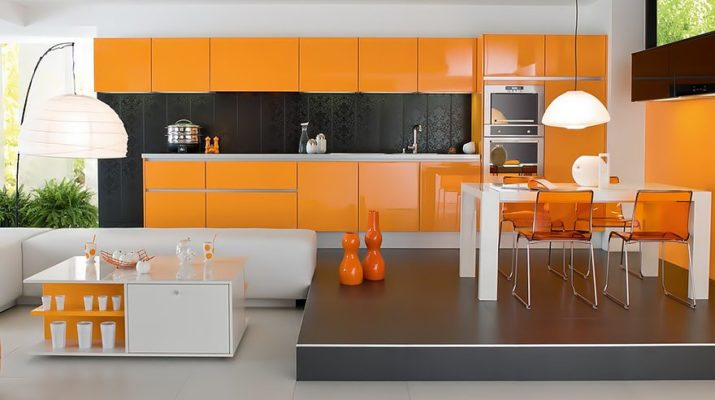 kitchen-orange-style