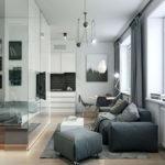 Гостиная совмещенная со спальней: идеи оформления