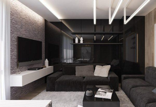1453069257_glossy-black-interior-wall-1024x701