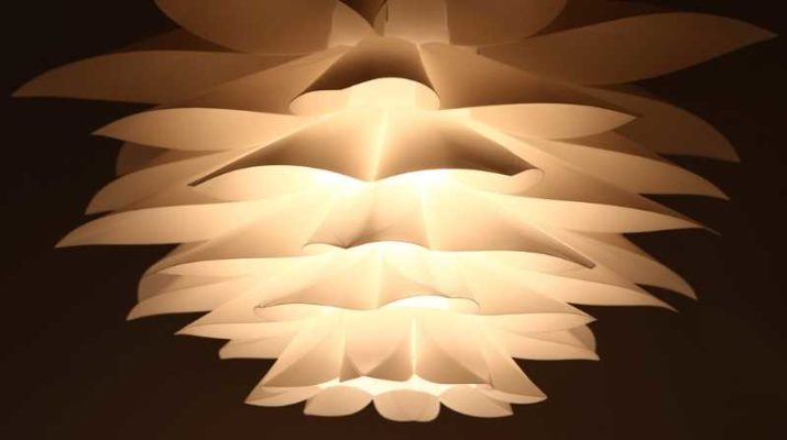 Топ-5 самых популярных материалов для изготовления люстры