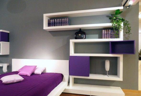 Как правильно выбрать полку для спальни