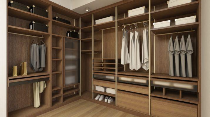 Как выбрать мебель для гардеробной комнаты