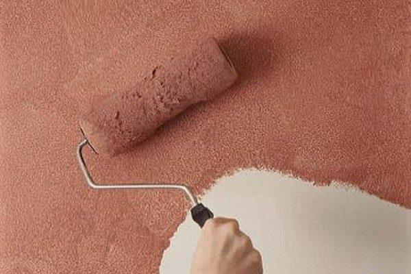 Применение фактурной водоэмульсионной краски