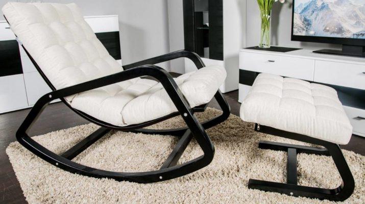 Как выбрать обивку и каркас для кресла-качалки