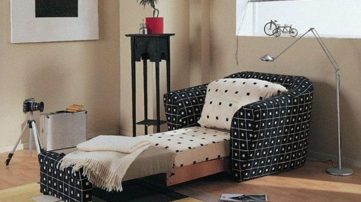 Виды и модификации кресла-кровати