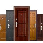 Виды входных дверей по материалам