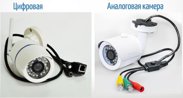 IP-видеокамеры или аналоговые