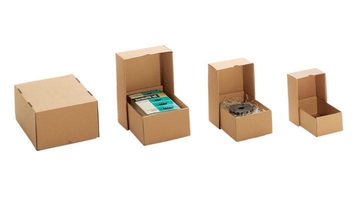 Самые популярные виды картонных коробок