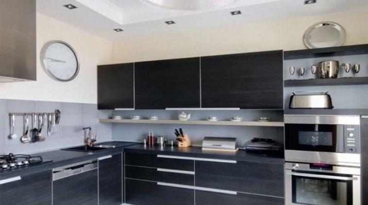 Современные стили угловых кухонь