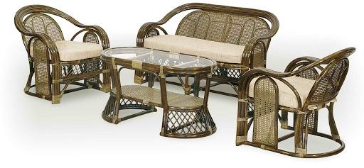Плетеная мебель для кафе и ресторана