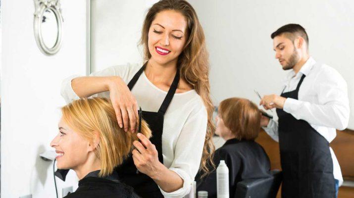 Фартуки для парикмахера – особенности выбора, достоинства
