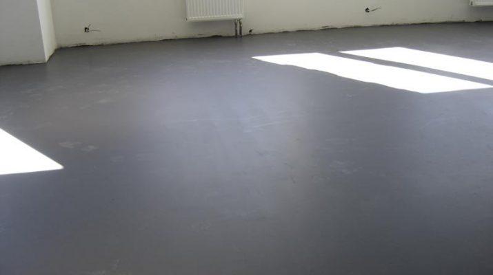 Особенности укладки бетонного пола