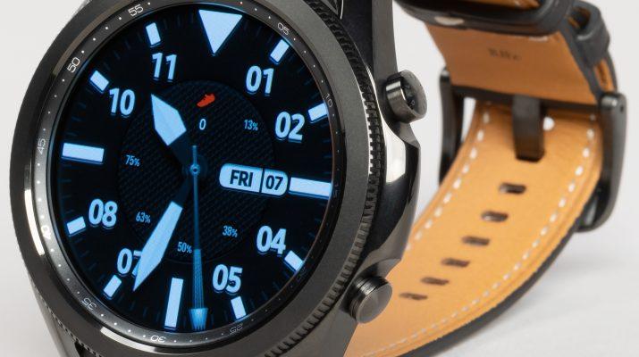 Краткий обзор умных часов Samsung Galaxy Watch3