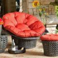 Круглые кресла из ротанга, их вараинты и характеристики